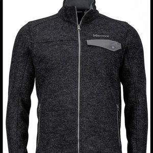 Marmot Men's Charcoal Grey Poacher Pile Jacket Size Large